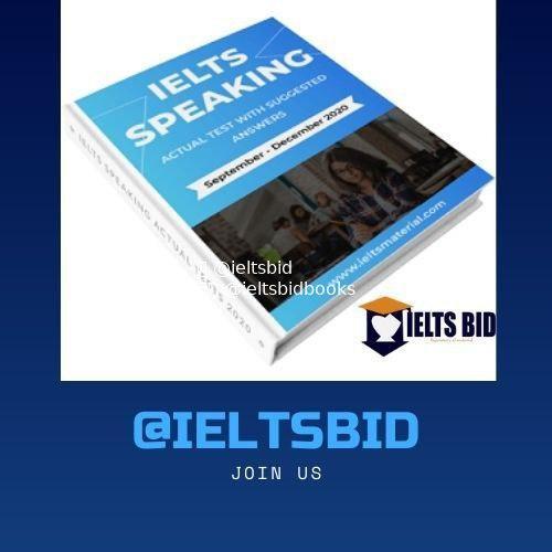 IELTS SPEAKING ACTUAL TESTS | SEPT-DEC 2020 DOWNLOAD