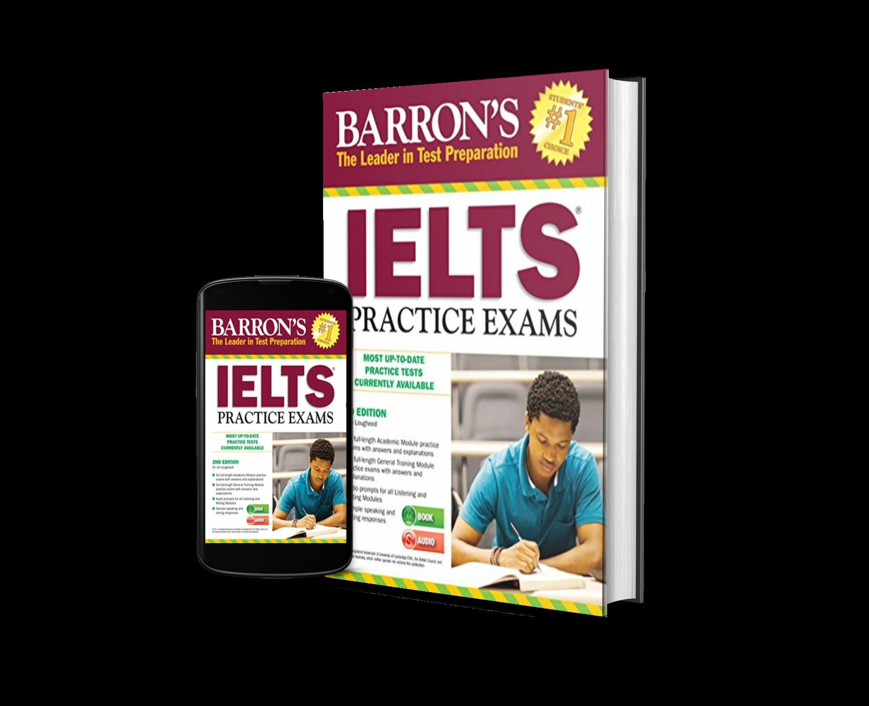 Barron's IELTS practice exams | Download pdf + audio